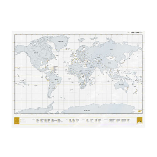 Scratch Map - Clear edition